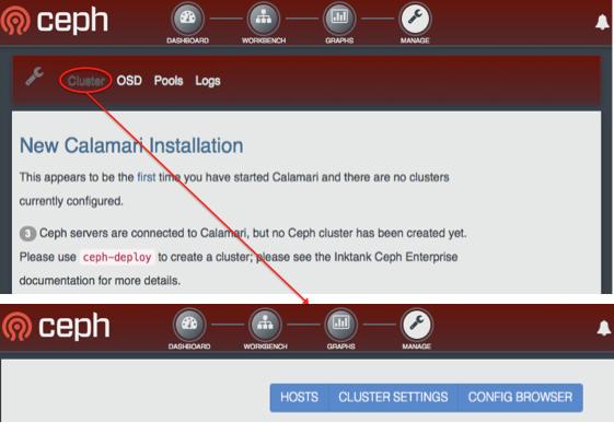 Re: Назад: RE: calamari gui — CEPH Filesystem Users